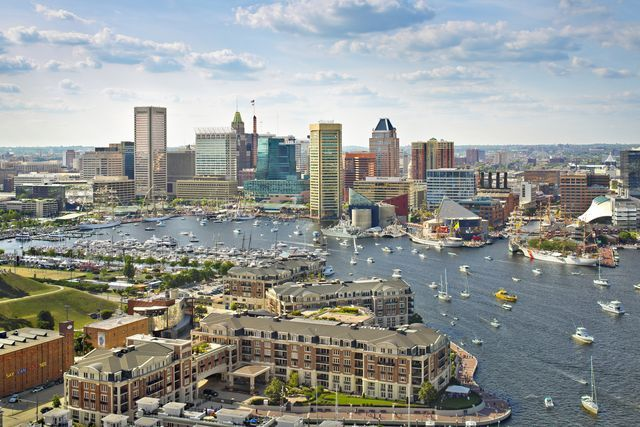 Baltimore, the largest city in the state of Maryland, is a major seaport with a wide range of things to see and do including historic landmarks, museums, parks, dining and shopping.