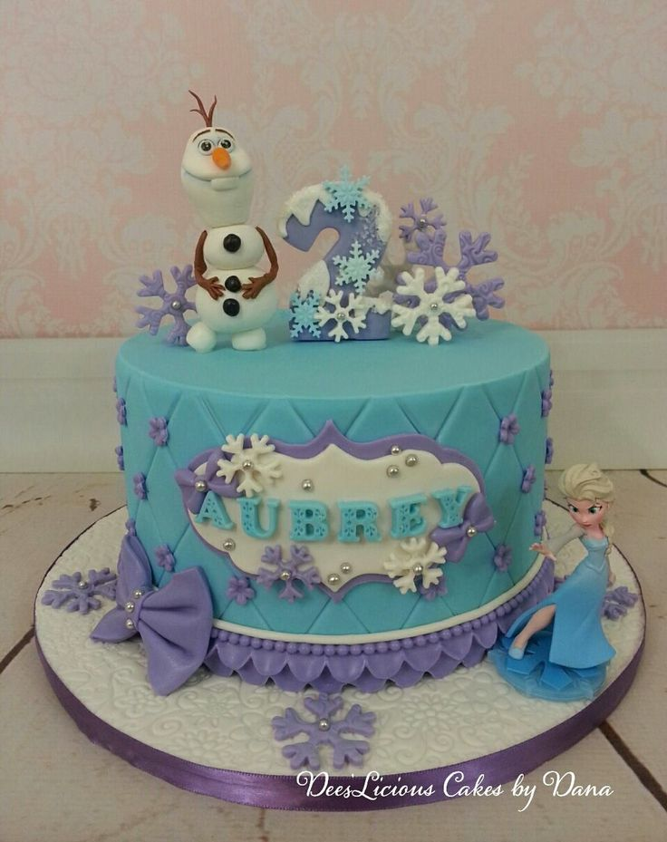 Elsa Cake Decoration Ideas : The 25+ best Frozen birthday cake ideas on Pinterest ...