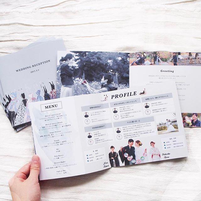 かなさんのプロフィールブック 前撮りやお二人の今までのお写真もたくさん使って盛りだくさんのブックになりました くすんだブルーがお気に入りです! 色も想像通りに仕上がって嬉しい〜! . 前撮りの写真加工はいつもこちらでやらせていただいています モノクロ加工に指輪の箱だけ赤にしてみました . #wedding  #weddingpaperitem #paperitem #graphic #pinkwedding  #graphicdesign #結婚式 #ペーパーアイテム #プロフィールブック #招待状 #プレ花嫁 #卒花嫁 #結婚準備 #marry花嫁 #marry花嫁図鑑 #7月挙式 #8月挙式 #ウェルカムボード #ウェディングスタンプ #席次表 #前撮り #和装前撮り
