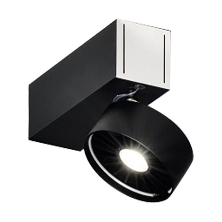 Absolut Basica 1-flammig LED Deckenstrahler schwarz -  - A055764.003