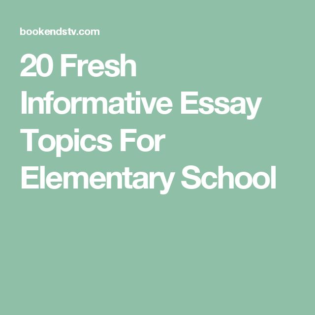 elementary education essay topics I'm having difficulty choosing my essay topic and constructing a title for it i am an elementary education major can you please give suggest some research or topics.