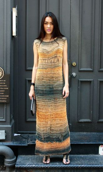 Free knitting pattern for a gorgeous modern dress created by Loopy Mango! Pattern Check out: http://loopymango.com/