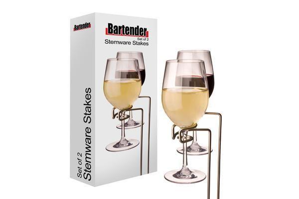 BARTENDER |  Picnic Stemware Stakes Set 2