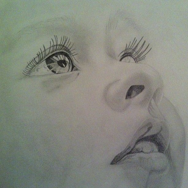 Custom Portrait Painting From Photo Pencil Sketch