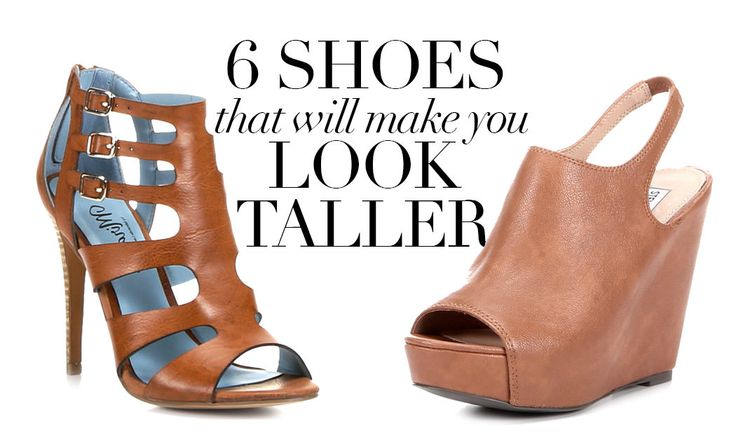 Want to look taller? You need these shoes!
