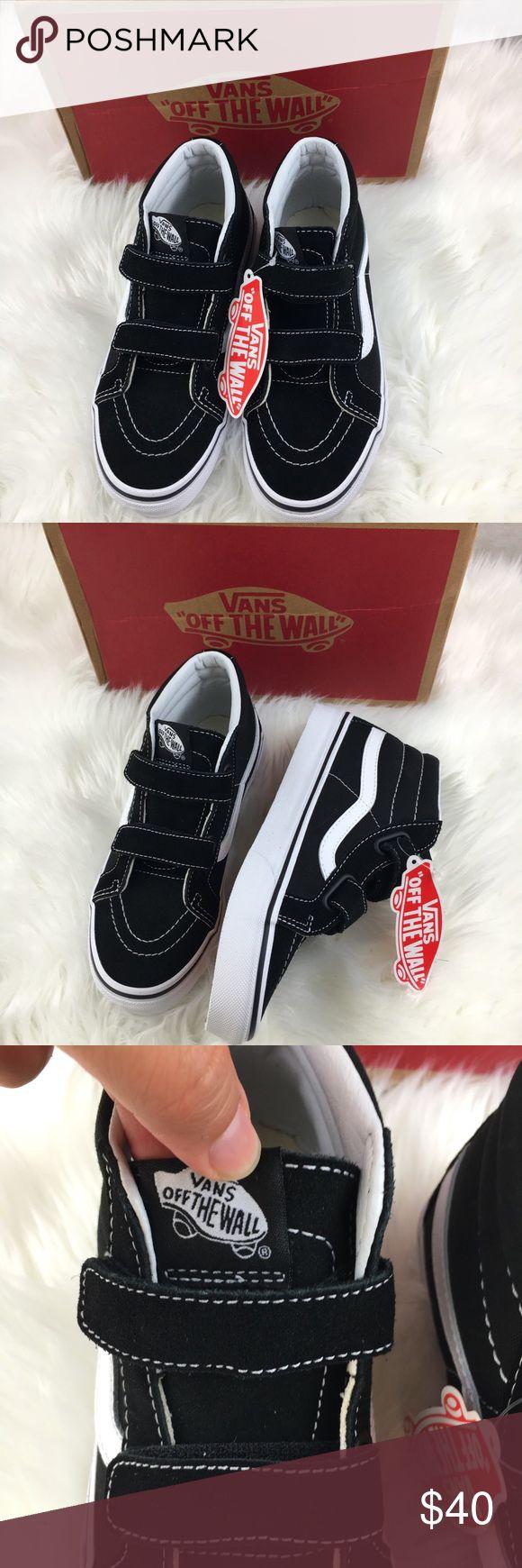 Vans Sk8 Mid Reissue V Size 3.5 Youth NIB Vans  SK8 Mid Reissue V Suede/Canvas  Size 3.5 Youth New in Box Vans Shoes Sneakers