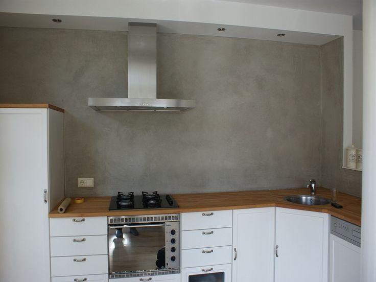 beton stucwerk keuken - Google zoeken