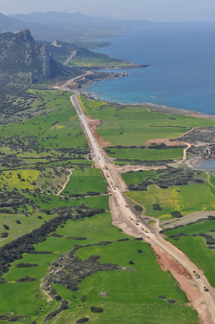 Karpas Coast Road  http://www.cyprusluxurydestinations.com #weddings #weddingplanner #northcyprus  #apartments #villas #travel #honeymoons #spas