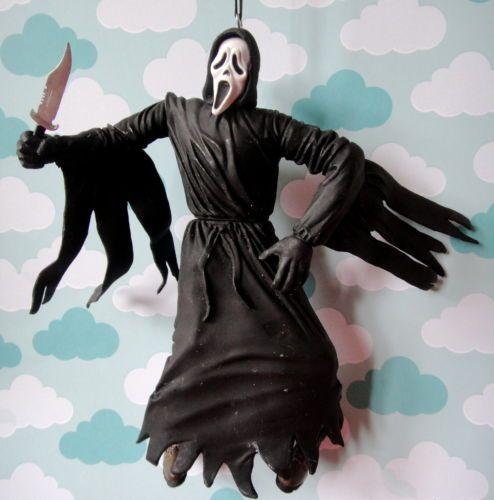 Scream Horror Movie Custom Christmas Ornament - Ghostface Ghost Halloween