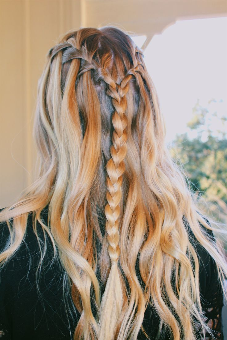 Hair Dance Winterformal Formal Braid Curly Hair Styles Hair Hair Beauty