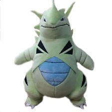 2017 RARE New Edition Pokemon Tyranitar Plush Doll Soft Poke Toy Gift