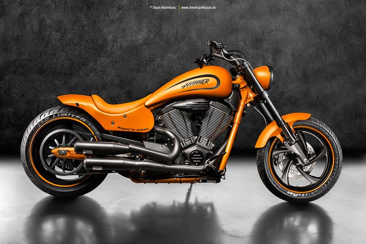 Hammer Limited Edition Orange I by AmericanMuscle