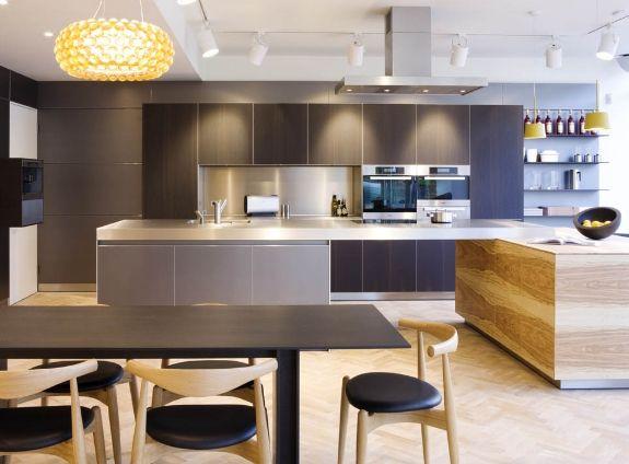 Modern Kitchen Showrooms 18 best ciemne kuchnie images on pinterest