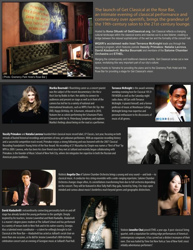 Getclassical new york ny trifold brochure designed by
