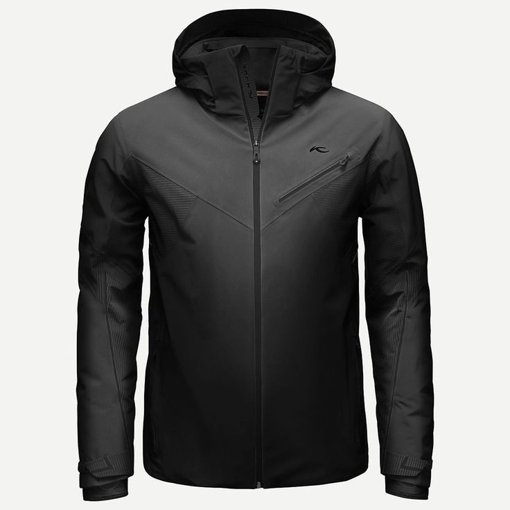 Kjus Mens Ski Jacket Line Black