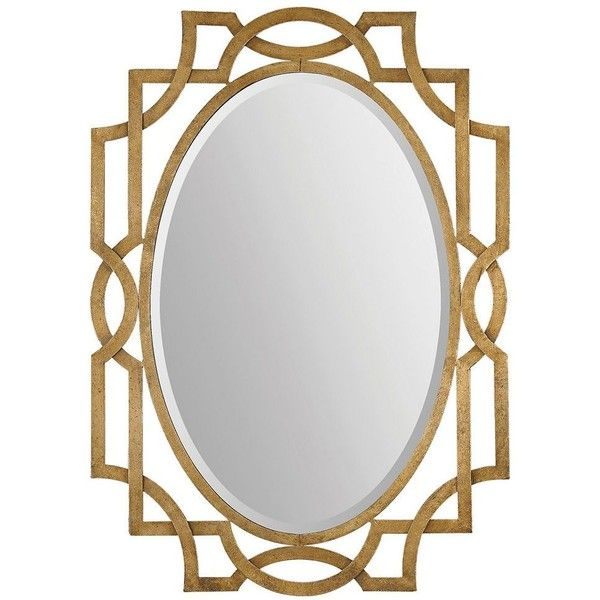 margutta beveled wall mirror 344 liked on polyvore featuring home home decor - Uttermost Mirrors