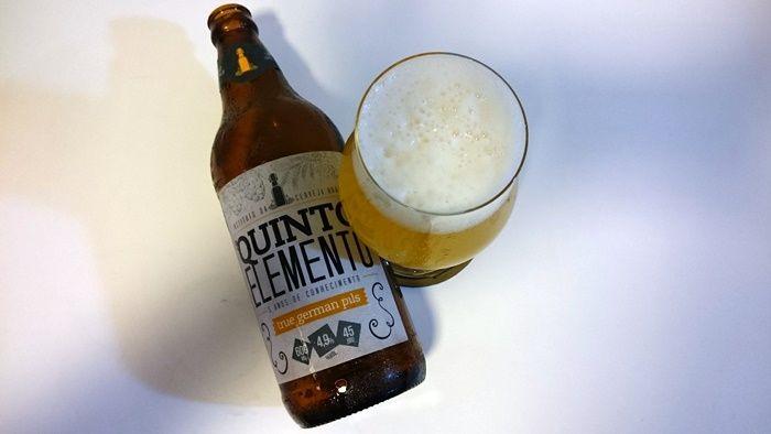 Escola de educação cervejeira lança cerveja inspirada no clássico estilo alemão  continue lendo em Instituto da Cerveja lança rótulo Pilsen Quinto Elemento