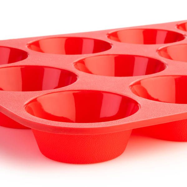 12-cup Silicone Muffin Pan