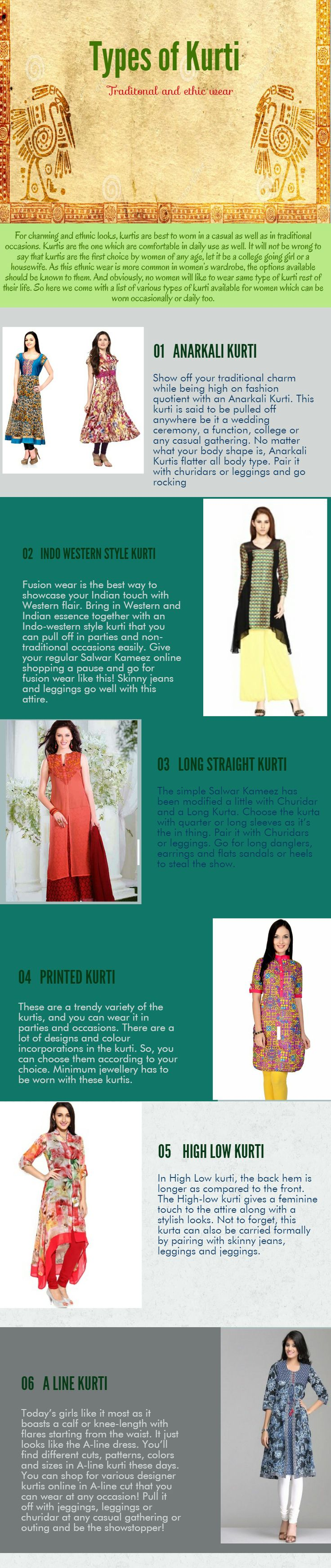 For charming and ethnic looks, kurtis are best to worn in a casual as well as in traditional occasions. Kurtis are the one which are comfortable in daily use as well. If you want to know more please contact us on:- http://www.modellingagenciesmumbai.com