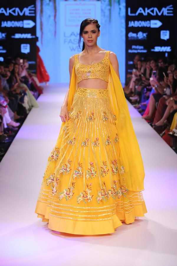 Lakmé Fashion Week – Lakmé Salon Bridal Show by Neeta Lulla at Lakmé Fashion Week Winter/Festive 2015