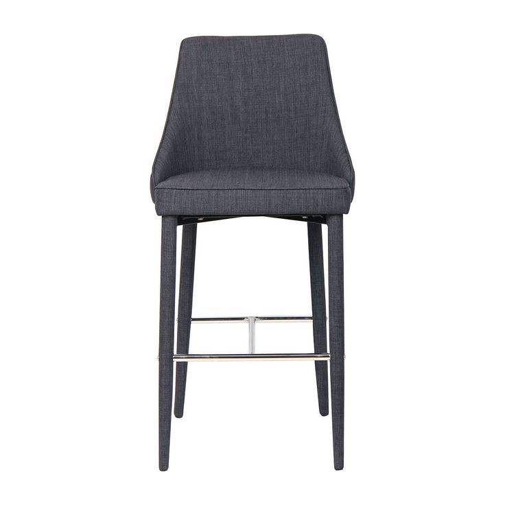 Buy Modern Bar Stools Online or Visit Our Showrooms To Get Inspired With The Latest Bar Stools From Life Interiors - Charlie Bar Stool (Charcoal)