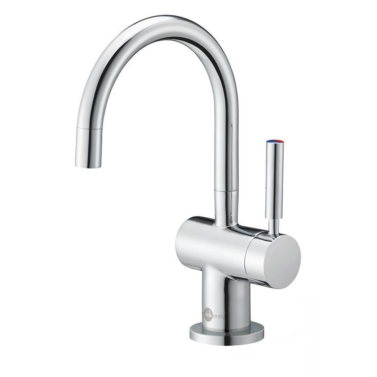 """9.25""""Hx5.25""""D. Instant Hot Water Dispensers, Indulge Series Faucets, Modern Hot and Cool