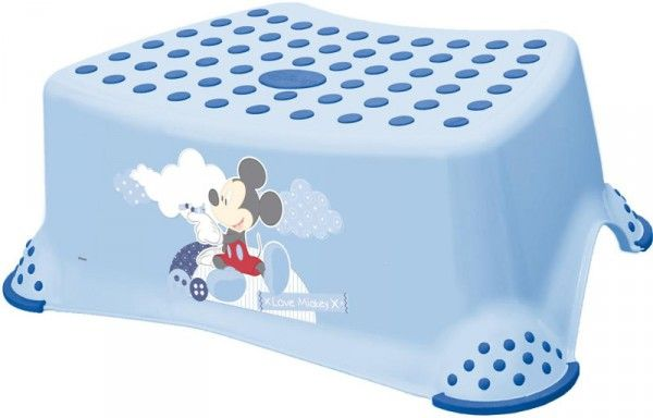 Taburete de baño Disney King Baby Mickey azul [8444] | 11,20€ : La tienda online para tu peke | tienda bebe pekebuba.com