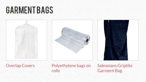 Garment Bags, Polyethylene Bags and More