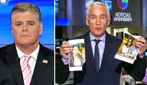 Jorge Ramos' lame photo-ripping drama no match for Hannity: 'Do you care about fellow Americans at all?'