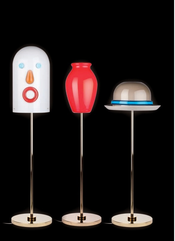 Face Vase And Hat Lamp Venini Harlequin London