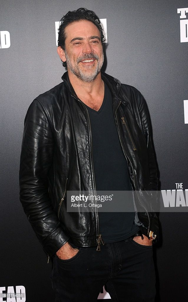 Actor Jeffrey Dean Morgank arrives for the AMC Presents Live, 90-Minute Special Edition Of 'Talking Dead' held at Hollywood Forever on October 23, 2016 in Hollywood, California.