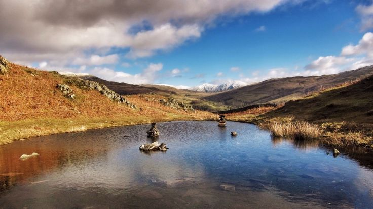High in the hills to the south west of Ambleside Lily Tarn is the perfect place to escape the hustle and bustle of the town below.