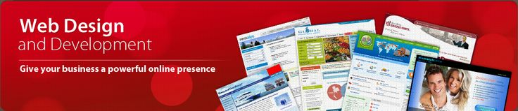 Web Design and Development-Give your business a powerful online presence