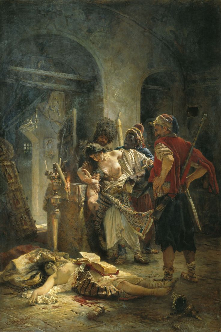 Konstantin Makovsky - The Bulgarian Martyresses