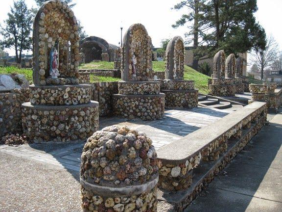 ~ Amy Rich - Geode Grotto,  behind St. Joseph's Catholic Church in Jasper, Indiana