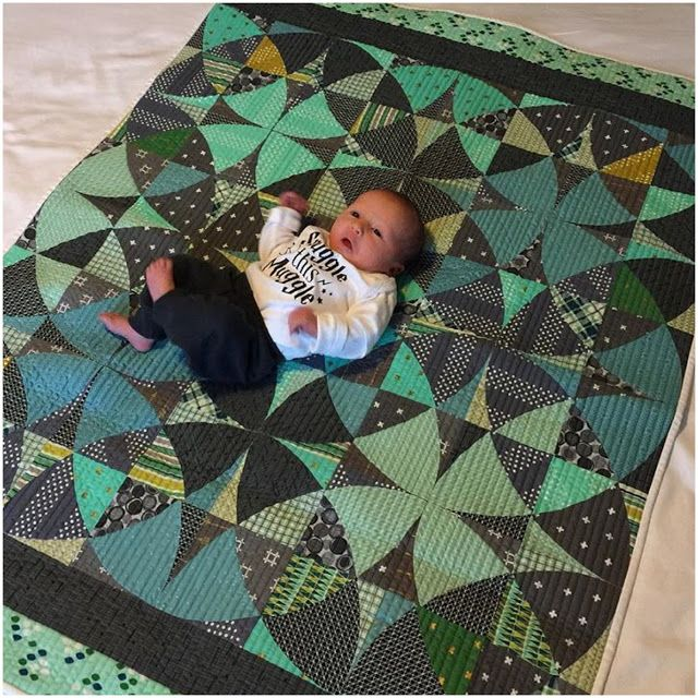 Sew Kind Of Wonderful: New Themed Quilts and Life's Big Events! Great colors in this quilt.