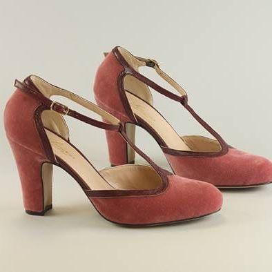 Amalia Dusty Rose, Velvet Elegance check on Lenora website: http://lenora.shoes/  #look #instafollow #fashion #my #shoes #amazing #heels#like4like