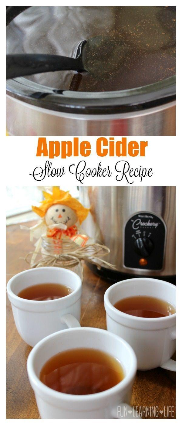 Apple Cider Slow Cooker Recipe