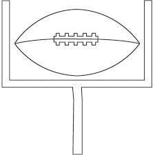 lombardi trophy coloring pages - photo#12