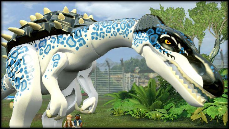 LEGO Jurassic World - TEEN TITANS COMPLETE!