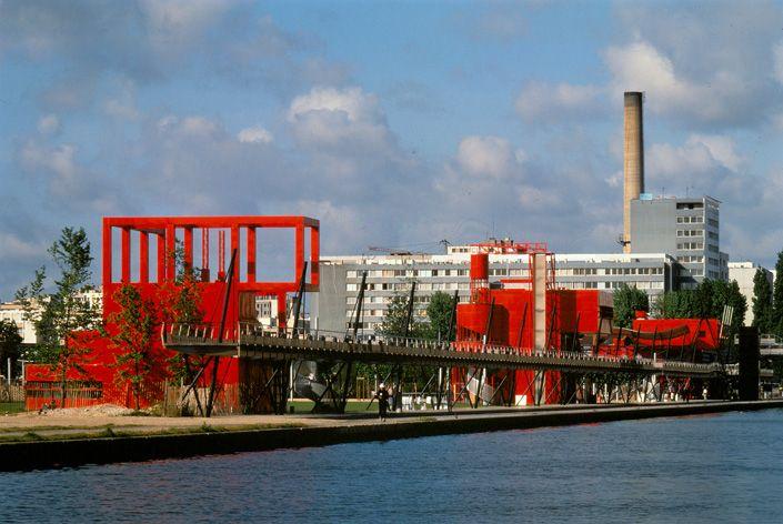 Bernard Tschumi Architects: Parc de la Villette, Paris, 1982-1998