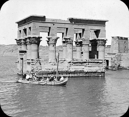 Old Egyptian Lantern Slides (1849)