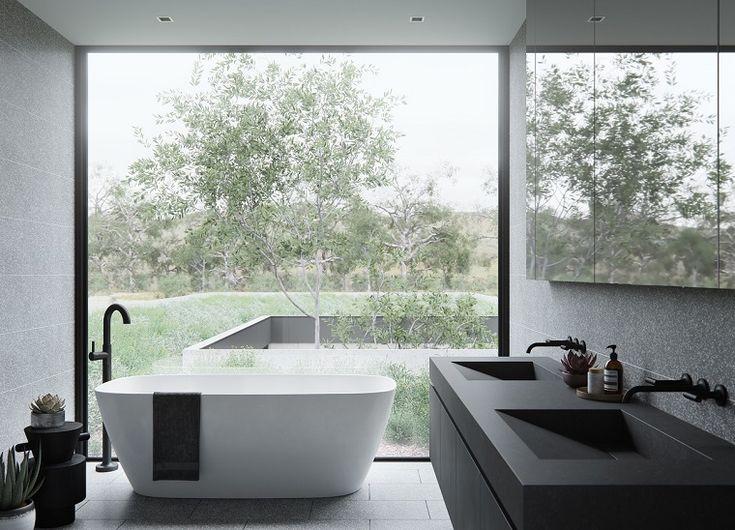 104 best case moderne interni images on pinterest for Case moderne interni bagni