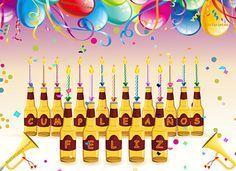 Cervezas para una Feliz Cumpleaños! http://www.riotarjetas.com/tarjetas_de_cumpleanos.html Tarjetas de cumpleaños para hombres @ RioTarjetas.com