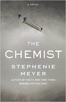 The Chemist by Stephenie Meyer -- her new thriller about a goverment scientist on the run, a heroine with knowledge to die for and very special skills.