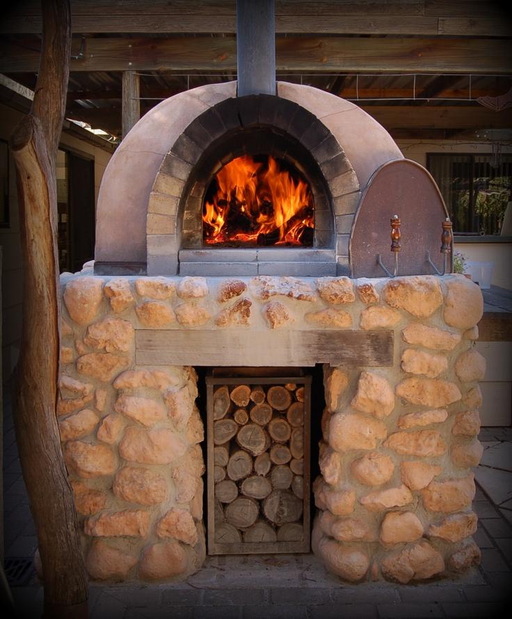 Oven handmade using local stone