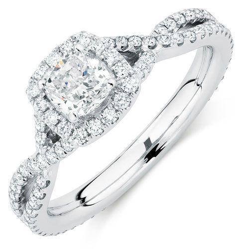 1 1/5 Carat TW Diamond Adagio Ring #michaelhill