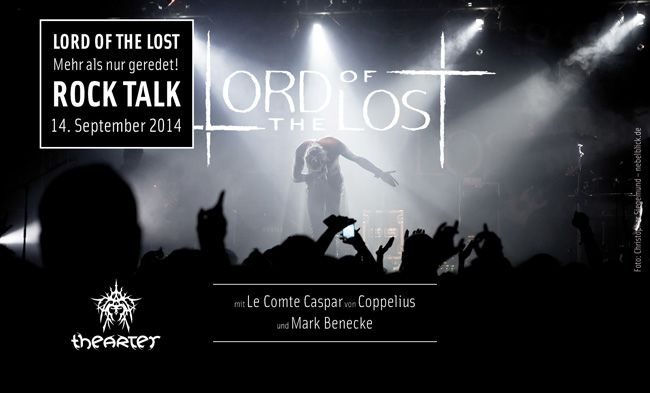 theARTer Gallery - Lord Of The Lost - Rock Talk 2014 Back to Berlin