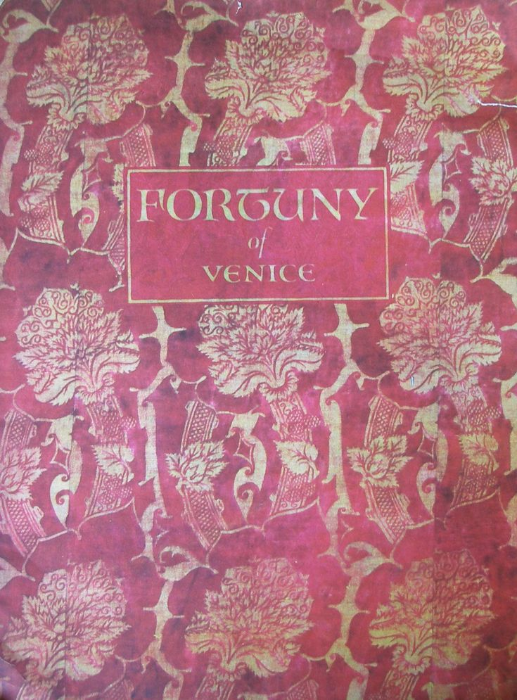 Fortuny of Venice - 1930s sales brochure by Arthur Lee Sons
