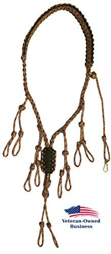 Duck Call Lanyard - Secures 5 Calls - Premium Hand Braided Camo 550 Paracord - Best for Goose, Predator, Varmint, Deer or Duck Calls - Adjustable Loops - Outdoor Hunting Gear - Protect your investments - Lifetime No-Hassle Free Replacement Guarantee //Price: $ & FREE Shipping // #sports #sport #active #fit #football #soccer #basketball #ball #gametime #fun #game #games #crowd #fans #play #playing #player #field #green #grass #score #goal #action #kick #throw #pass #win #winning